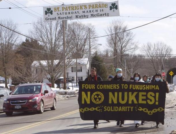 """Four Corners"" = the frontline region of uranium extraction. From Four Corners to Fukushima to Indian Point, Break the Nuclear Fuel Chain!"