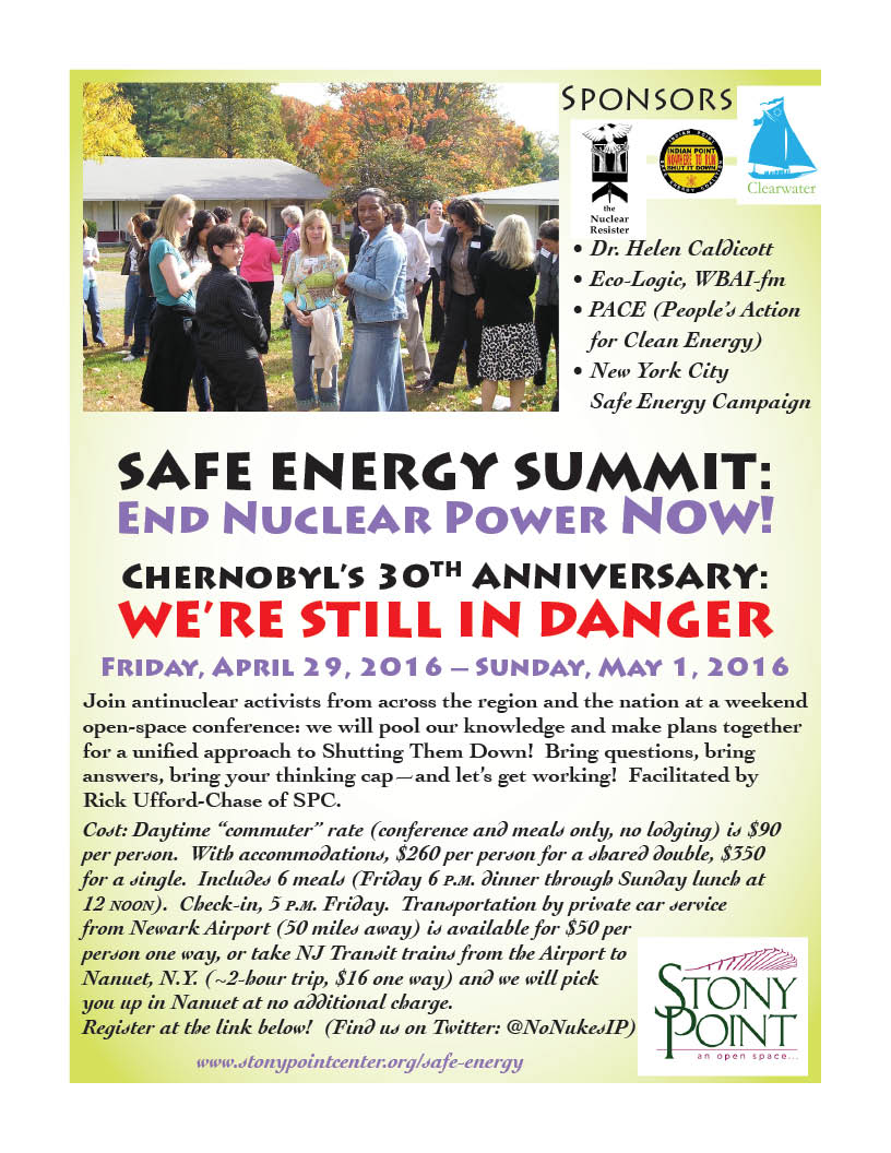flyer for weekend summit