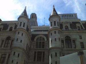 The Philadelphia City Hall building.