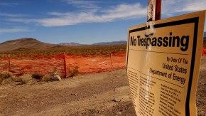 """Trump Advisers Eye Reviving Nevada Yucca Nuclear WasteDump"""