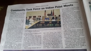 """Community Task Force on Indian Point Meets"""