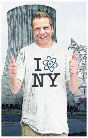 Update from the campaign against Cuomo's $7.6 billion nuclear bailout from MarkDunlea