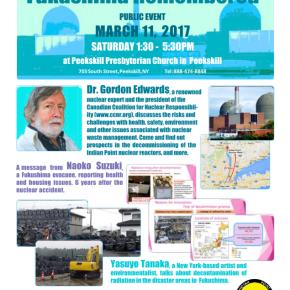 March 11: Fukushima Remembered inPeekskill