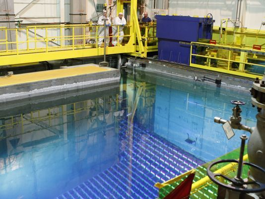 """""""Indian Point: Rare look inside a working reactor"""" by ..."""