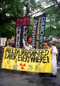 April 29: Nuclear-Free, Carbon-Free Contingent at the People's ClimateMarch